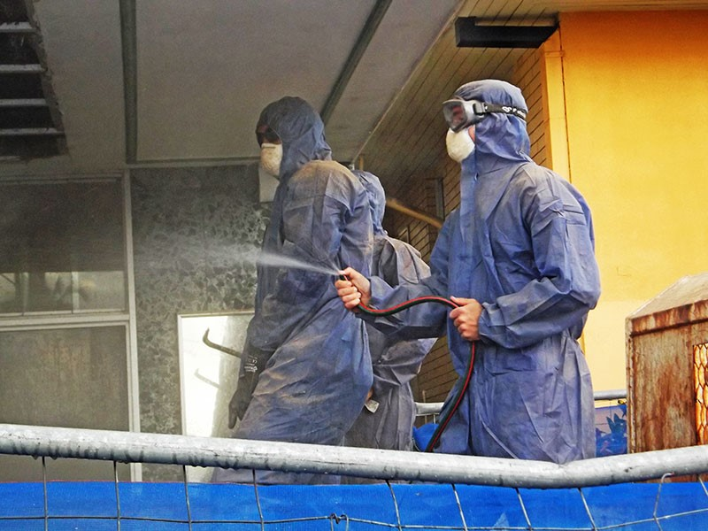 Asbestos Abatement Encapsulation