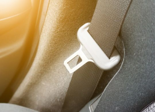 safety-belt-in-new-car-picture-id845558514