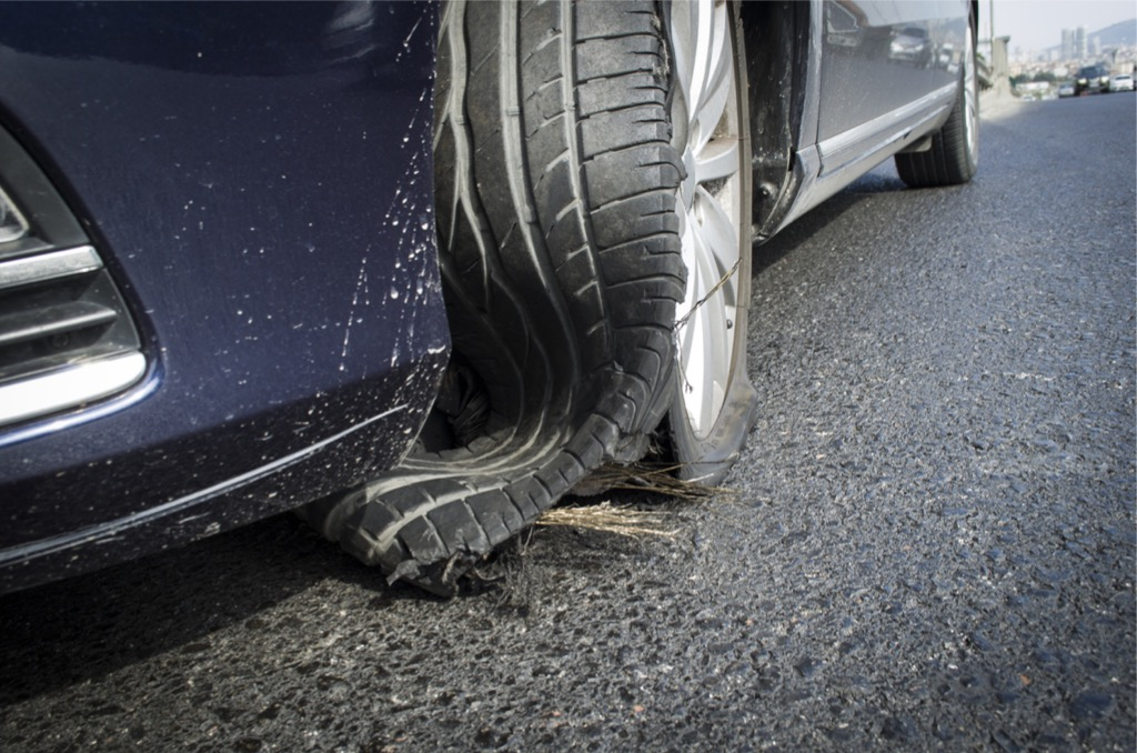 Tire Blowout Causes And Caution